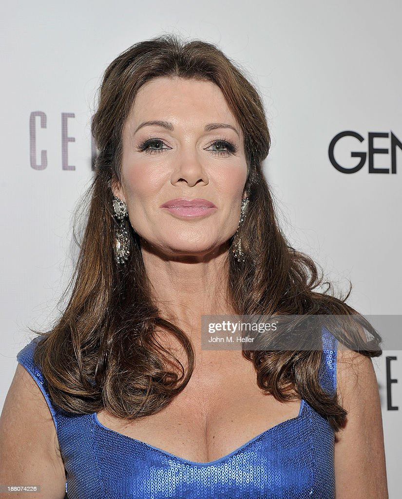 Housewives of Beverly Hills Lisa Vanderpump attends the GENLUX magazine Launch Event Party at The Beverly Center on November 14, 2013 in Los Angeles, California.