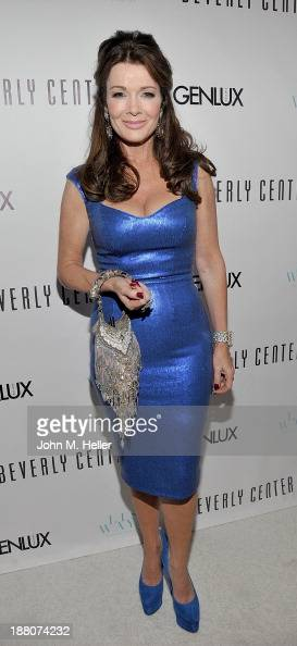 Housewives of Beverly Hills Lisa Vanderpump attends the GENLUX magazine Launch Event Party at The Beverly Center on November 14 2013 in Los Angeles...