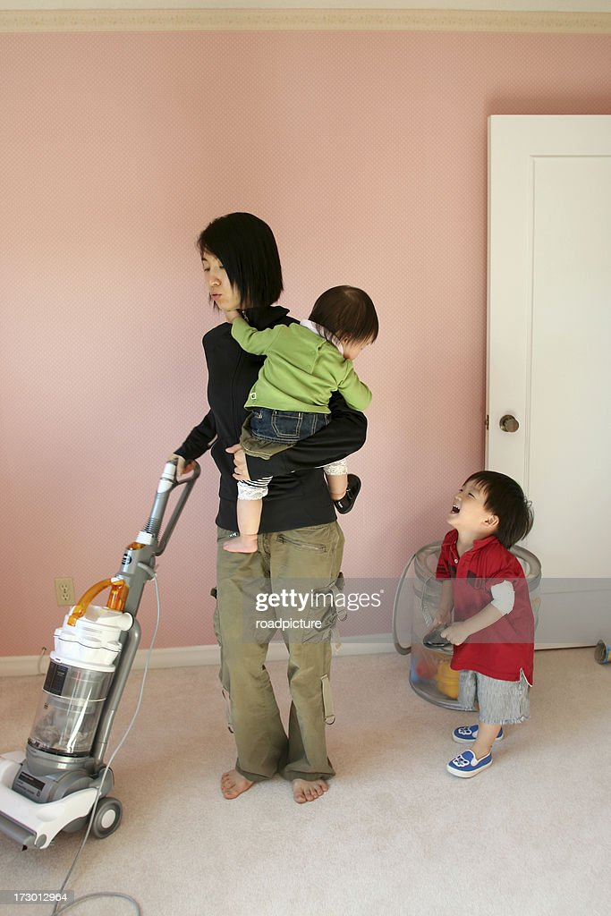 Housework with babys