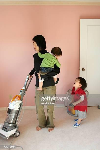 家事に babys