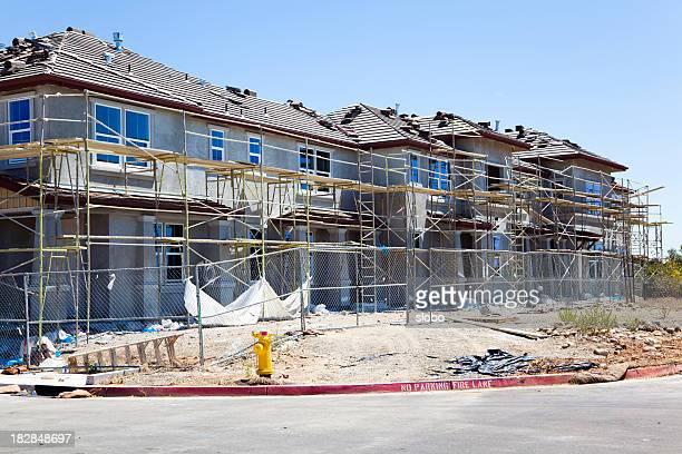 Housing Complex Under Construction