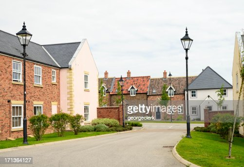 Housing development in traditional English design