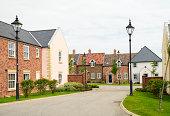 Housing development in traditional English design