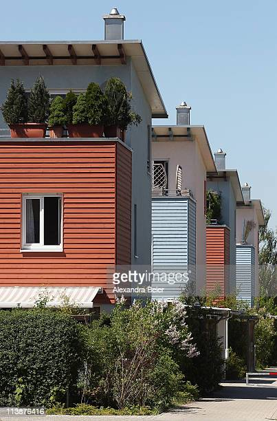A housing development is pictured on May 9 2011 in Germering near Munich Germany Germany has launched its 2011 census nationwide with over 6000...
