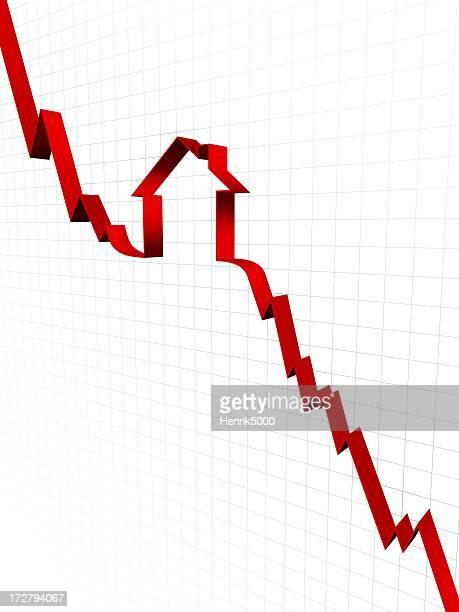 Carcasa hundimiento del mercado