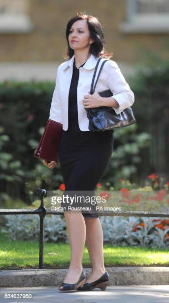 Housing Minister Caroline Flint arrives for a cabinet meeting at Dowing Street London
