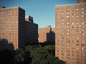 Housing projects in the East Side of Manhattan