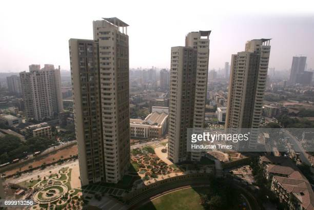 Housing Real Estate Skyscrapers Highrise Buildings on Mill Land Ashoka Gardens at Lalbaug part of the various projects which are changing the face of...