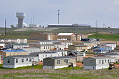 Housing units stand in Watford City North Dakota US on Saturday May 28 2016 For most of the past decade North Dakota has been the economic envy of...