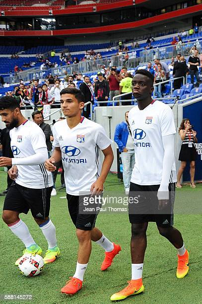 Houssem AOUAR of Lyon during the Friendly match between Lyon and Benfica at Stade des Lumieres on July 31 2016 in DecinesCharpieu France