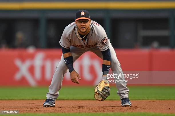Houston Astros first baseman Yuli Gurriel in action during a game between the Houston Astros and the Chicago White Sox on August 9 at Guaranteed Rate...