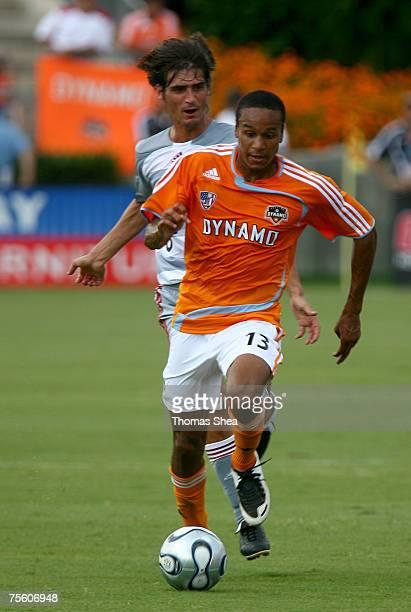 Houston Dynamo Ricardo Clark against FC Dallas on June 3 2007 at Robertson Stadium in Houston Texas Houston won 2 to 1