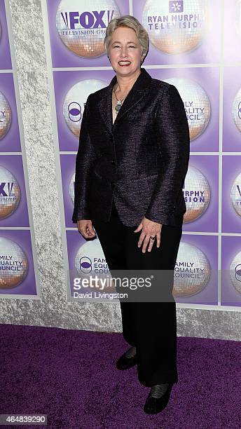 Houston Mayor Annise Parker attends the Family Equality Council's Los Angeles Awards Dinner at The Beverly Hilton Hotel on February 28 2015 in...