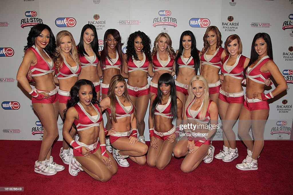 Houston Rockets Power Dancers at the NBA on TNT All-Star Saturday Night Party, Presented by Bacardi Pineapple Fusion at House Of Blues on February 16, 2013 in Houston, Texas.