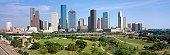 'Houston Skyline, Memorial Park, Texas'
