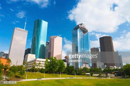 Grattacieli skyline di Houston /