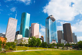 Houston skyscrapers / skyline