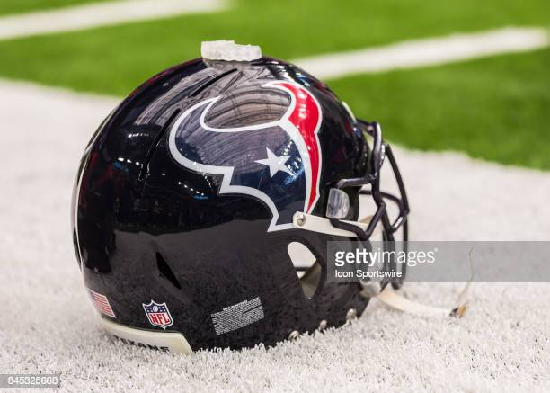 Houston Texans' first home game following Hurricane Harvey during the NFL game between the Jacksonville Jaguars and Houston Texans on September 10...