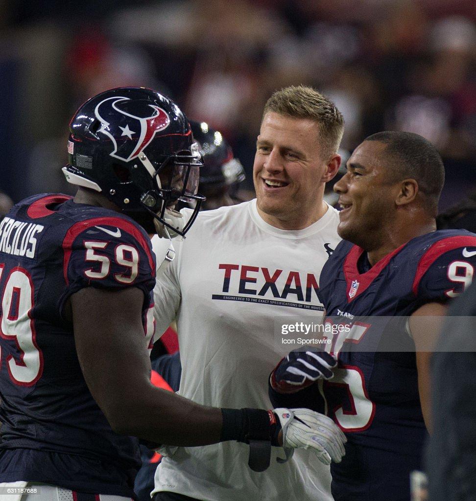 NFL JAN 07 AFC Wild Card Raiders at Texans