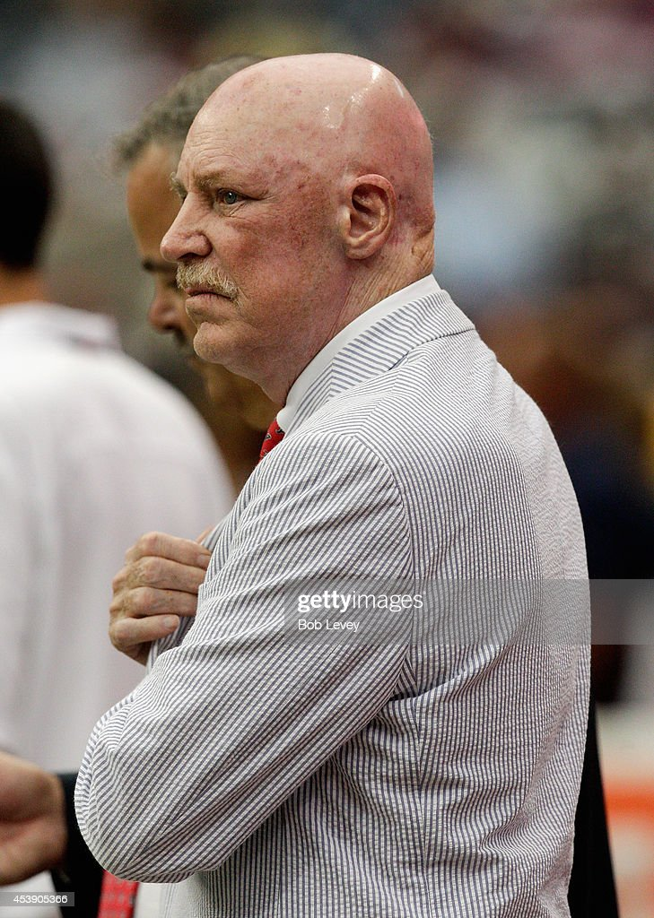 Houston Texans owner Bob McNair looks on during a preseason game against the Atlanta Falcons at Reliant Stadium on August 16, 2014 in Houston, Texas.