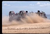 Hovercraft on the Beach