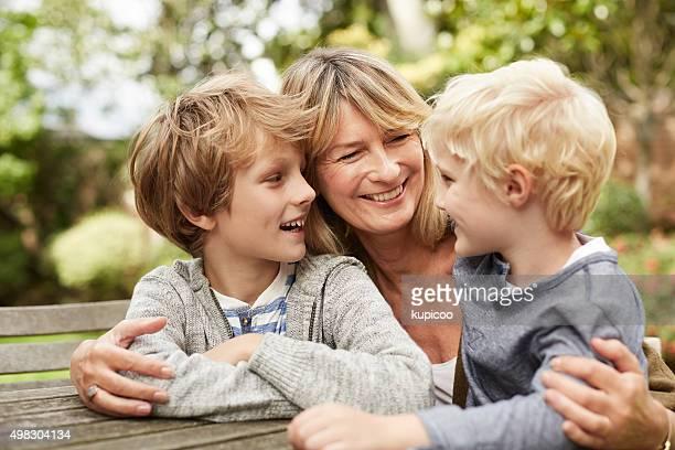 Wie sind meine kleine beiden Enkel um?
