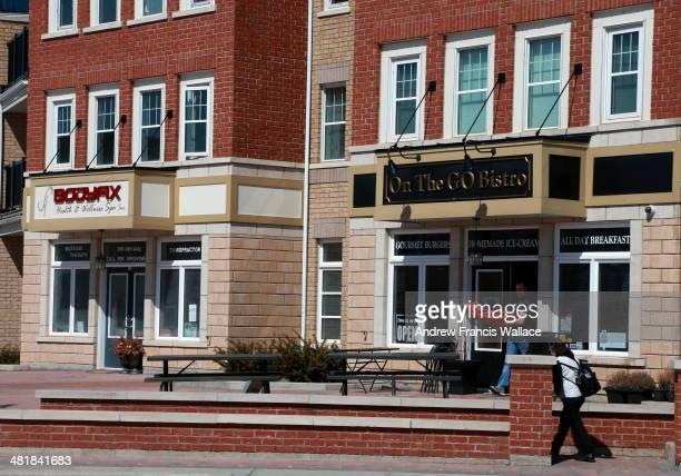 TORONTO ON MARCH 31 How Brampton has changed shots of Mount Pleasant village it's urban transit Village in northwest brampton March 31 2014