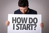How Do I Start? banner