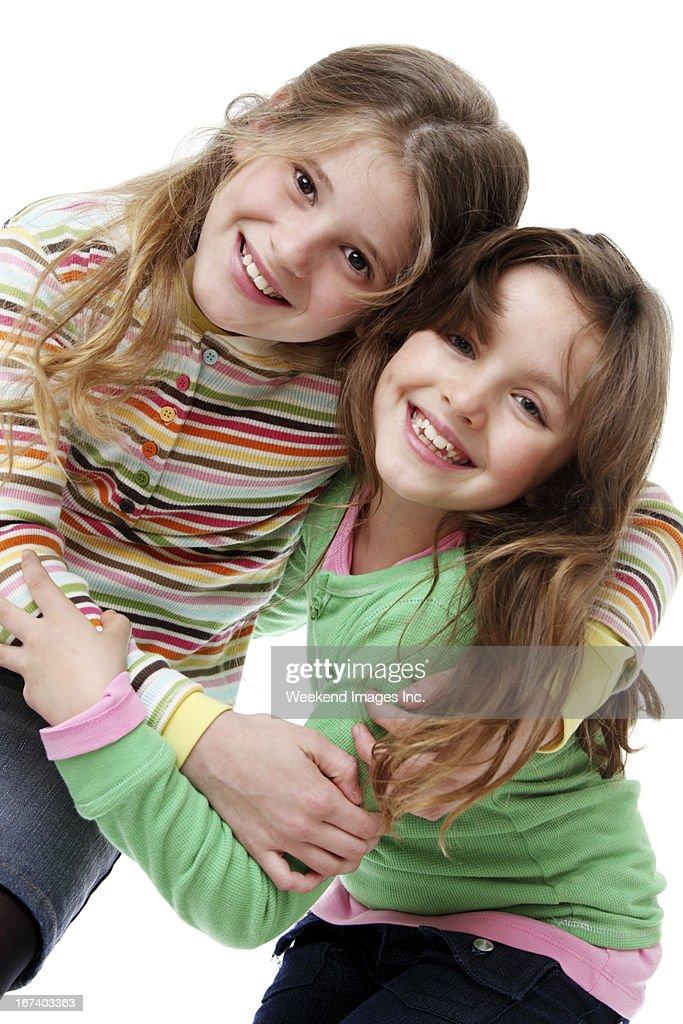How kids make friends : Stock Photo