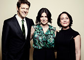'How to Dance in Ohio' producer Jason Blum director/producer Alexandra Shiva and producer Bari Pearlman pose for a portrait at the 75th Annual...