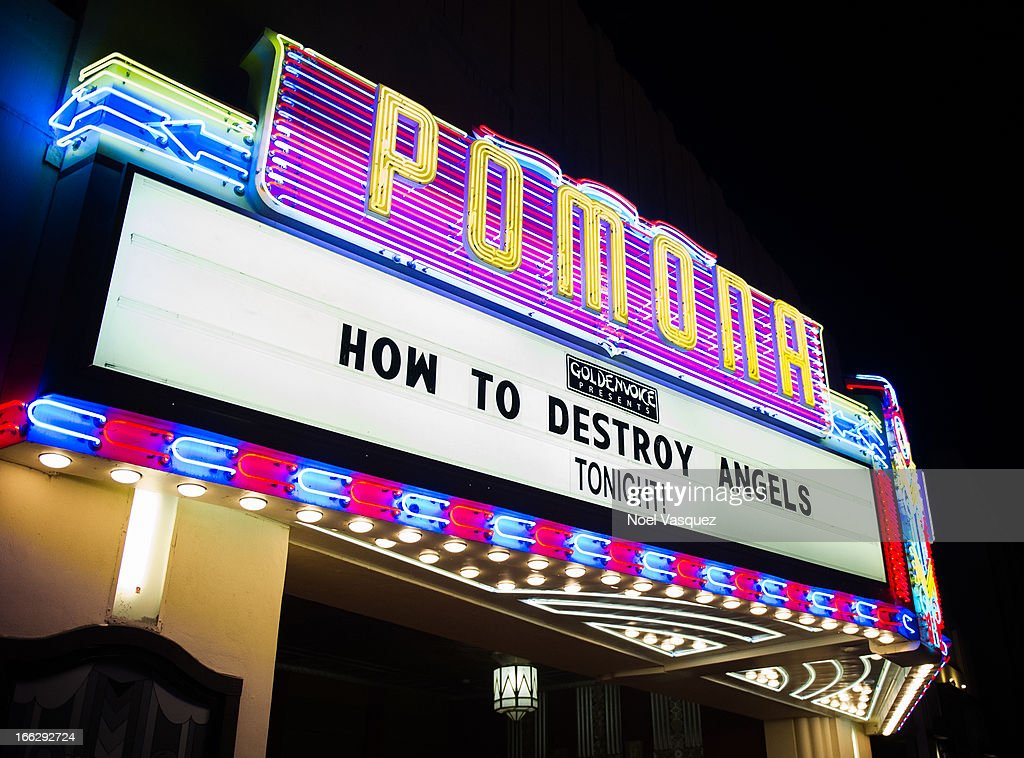 How To Destroy Angels performs at Fox Theater on April 10 2013 in Pomona California
