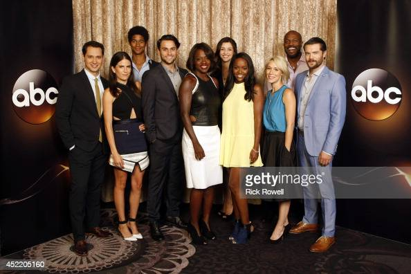 how to get away cast