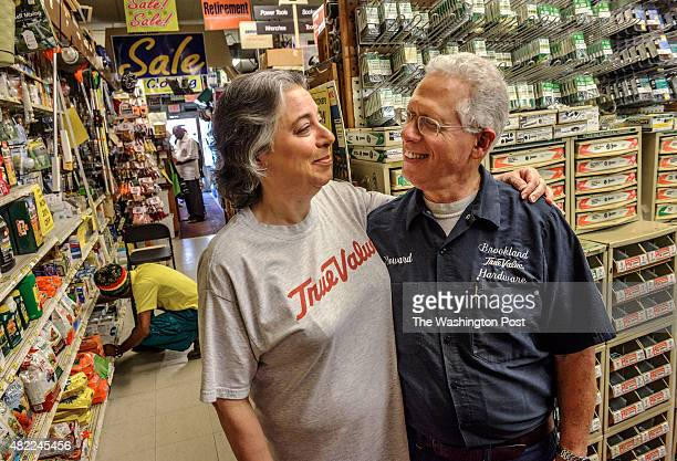 Howard and Marilyn Politzer co owners of Brookland True Value Hardware store which is closing after 40 years in the community on July 2015 in...