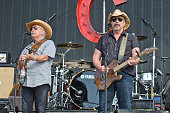 Howard Bellamy and David Bellamy of The Bellamy Brothers perform on Day 2 of Country Thunder Wisconsin on July 22 2016 in Twin Lakes Wisconsin