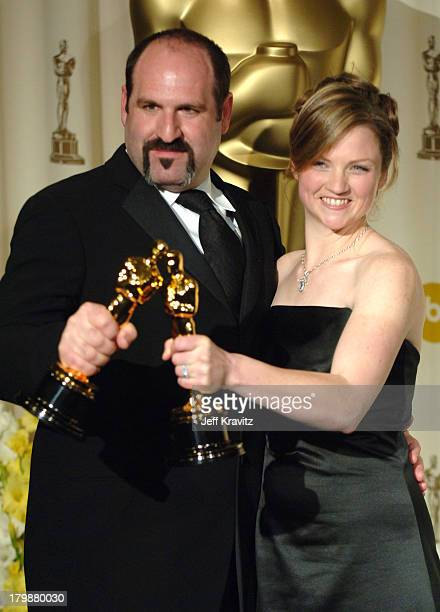 Howard Berger and Tami Lane winners Best Makeup for The Chronicles of Narnia The Lion the Witch and the Wardrobe