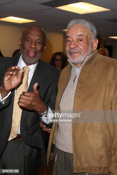 Howard Bingham and Bill Withers attend HOWARD BINGHAM to be Honored with the OUR TIME AWARD at Jack H Skirball Center for the Performing Arts on...