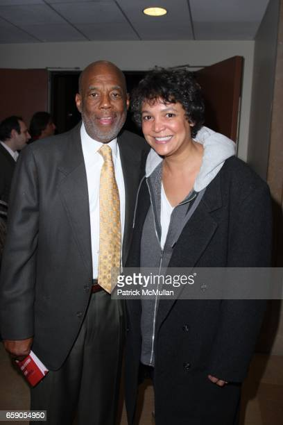 Howard Bingham and Erinn Cosby attend HOWARD BINGHAM to be Honored with the OUR TIME AWARD at Jack H Skirball Center for the Performing Arts on April...