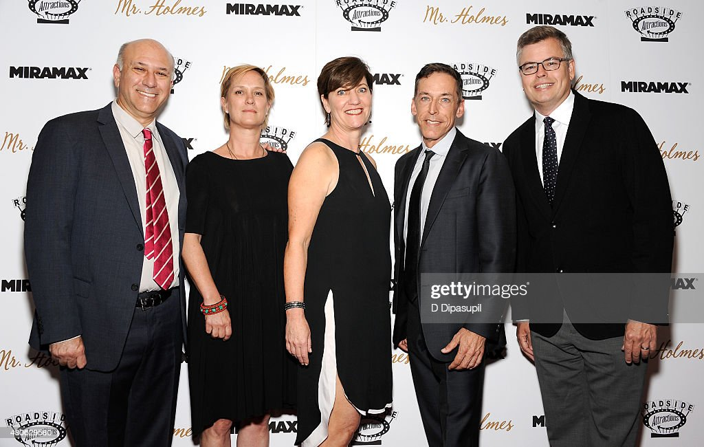 Howard Cohen, Anne Carey, Zanne Devine, Steve Schoch, and Eric d'Arbeloff attend the 'Mr. Holmes' New York Premiere at the Museum of Modern Art on July 13, 2015 in New York City.
