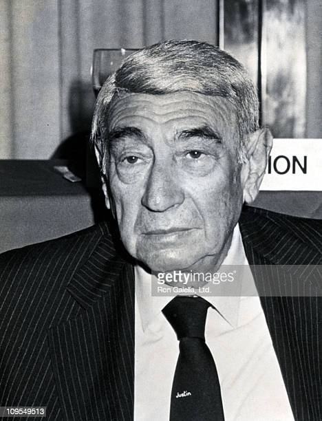 Howard Cosell during Bachelor Party for Jackie Mason Hosted by Raoul Felder at Symphony Cafe in New York City New York United States
