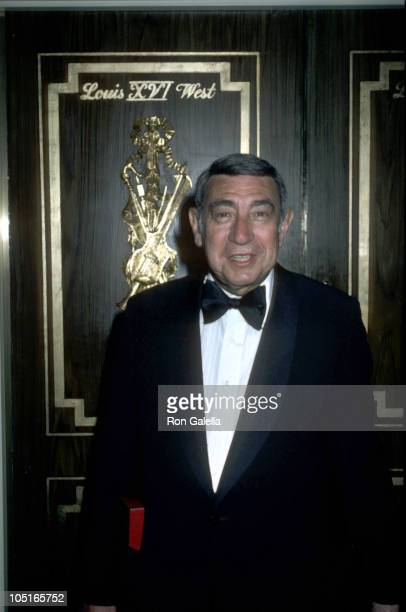 Howard Cosell during Friars Club Names Burt Reynolds Man of The Year at Waldorf Astoria in New York City NY United States