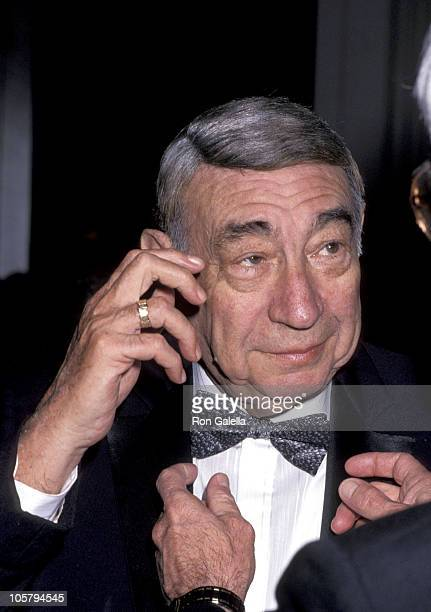 Howard Cosell during Museum of TV Radio Honors William Paley April 11 1991 at WaldorfAstoria Hotel in New York City New York United States