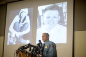 Howard County Police Chief William McMahon speaks during a press conference where Howard County Police release details from the investigation of the...