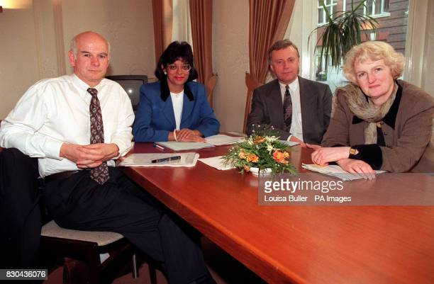 Howard Davies Deputy Govenor of the Bank of England Kamlesh Bahl Chairperson of the Equal Opportunities Commission John Monks General Secretary of...