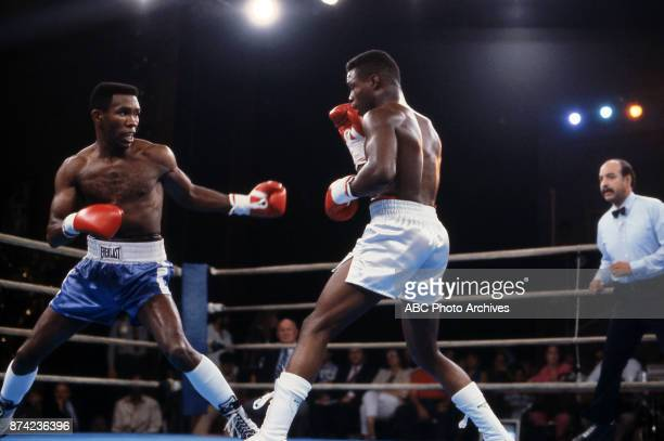 Howard Davis Jr Meldrick Taylor boxing at Sands August 16 1986