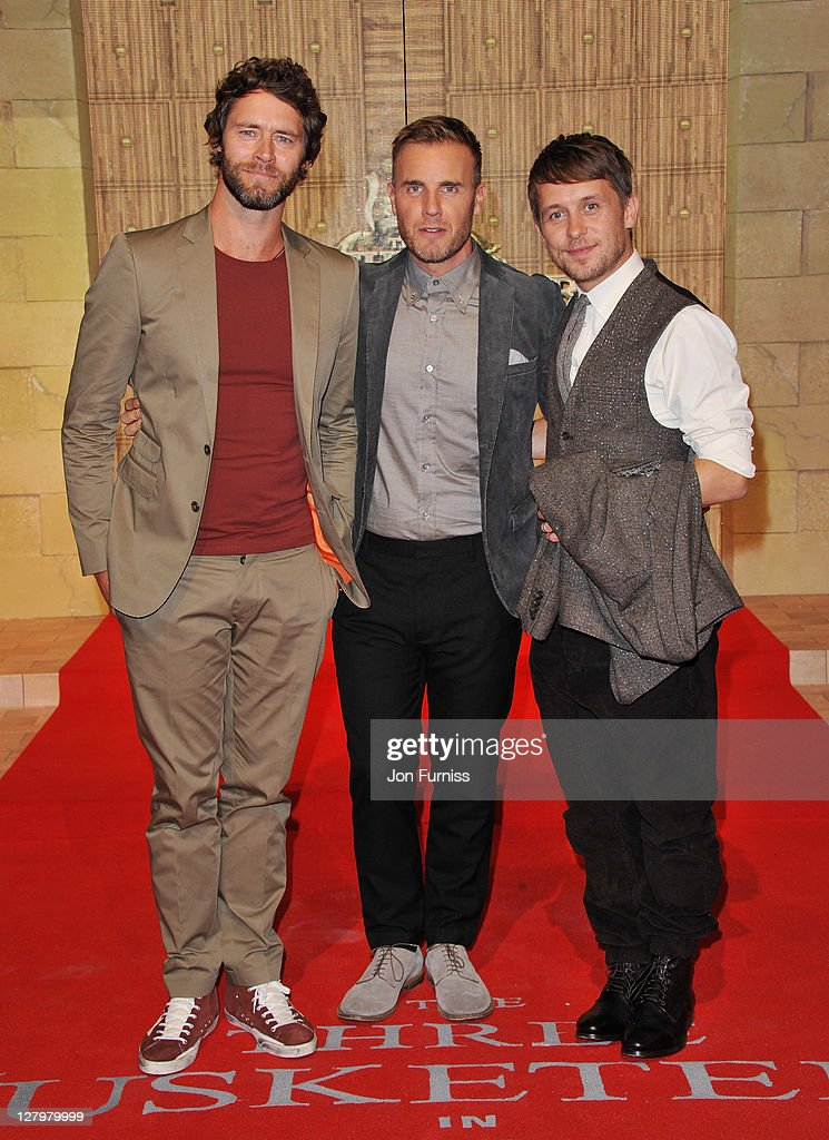 Three Musketeers in 3D - World Premiere - Inside Arrivals
