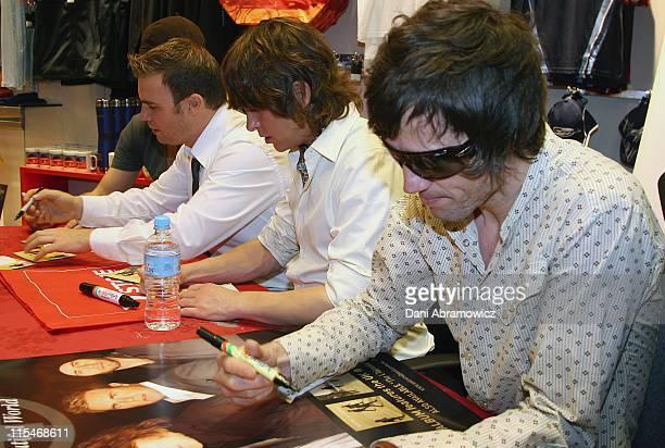 Howard Donald Gary Barlow Mark Owen and Jason Orange of Take That