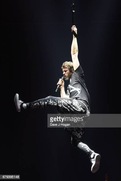 Howard Donald of Take That performs on the opening night of Wonderland Live 2017 at Genting Arena on May 5 2017 in Birmingham United Kingdom