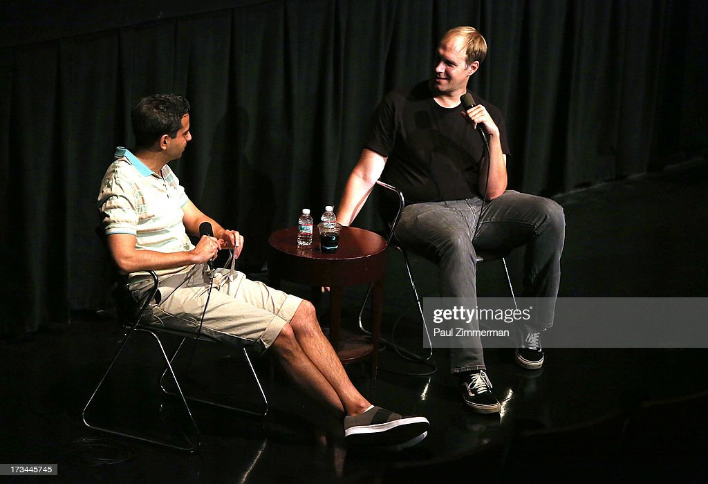 Howard Gertler and Craig Zobel attend the Sundance Institute NY Short Film Lab at BAM Rose Cinemas on July 14, 2013 in the Brooklyn borough of New York City.