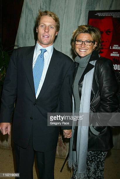 Howard Gould and Ashleigh Banfield during 'In My Country' New York City Premiere Inside Arrivals at Beekman Theatre in New York City New York United...