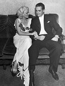 Howard Hughes and Jean Harlow shown together for the first time since making Hell's Angels together